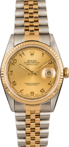 Pre-Owned Rolex DateJust 16233 Arabic Dial