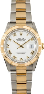 Pre Owned Rolex Datejust Thunderbird 16263 White