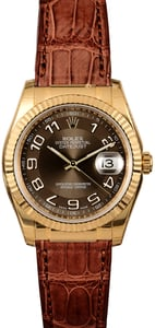 Rolex Datejust 116138 Chocolate Dial