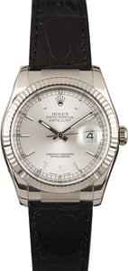 Rolex Datejust 116139 Silver Dial