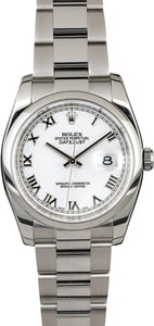 Rolex Datejust 116200 Steel Oyster