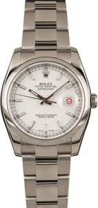 Pre-Owned Rolex Datejust 116200 Luminous Markers