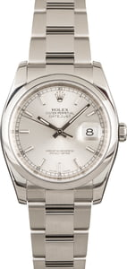 Rolex Datejust 116200 Silver Dial