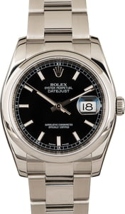 Rolex Datejust 116200 Black