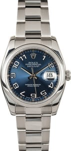 Rolex Datejust 116200 Blue Concentric