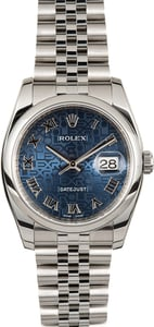 Rolex Datejust 116200 Blue Jubilee
