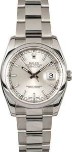Rolex Datejust 116200 Silver Dial XX