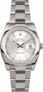 Rolex Datejust 116200 Stainless Oyster
