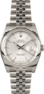 Rolex Datejust 116200 Stainless Steel Factory Stickered