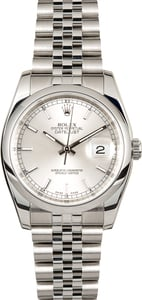 Rolex Datejust 116200 Stainless Steel Jubilee