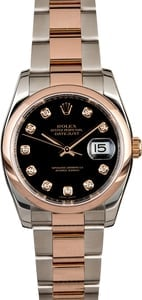 Rolex Datejust 116201 Diamond Dial
