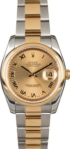 Rolex Datejust 116203 Sunbeam Dial
