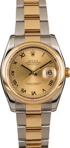 Used Rolex Datejust 116203 Roman Dial