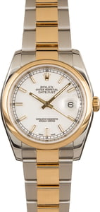 Pre-Owned Rolex Datejust 116203 Roulette Date
