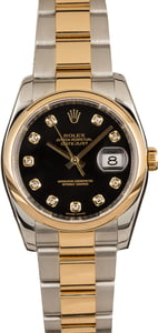 Pre-Owned Rolex Mens Datejust 116203 Diamond Markers