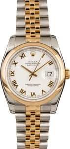 Pre-Owned Rolex Datejust 116203 Roman Dial
