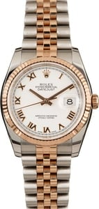 Pre-Owned Rolex Datejust 116231 Everose Gold