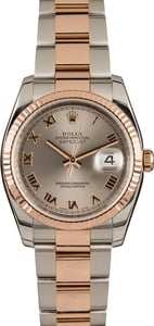 Pre-Owned Rolex Datejust 116231 Roman Dial