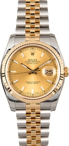 Rolex 36MM Datejust 116233 Two-Tone Jubilee