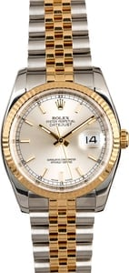 Rolex Datejust 116233 Silver Dial Men's Watch