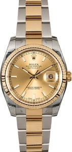 Rolex Datejust 116233 Two Tone Oyster Band