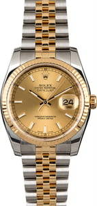 PreOwned Rolex Datejust 116233 Two Tone Jubilee