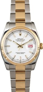 Certified Pre-Owned Rolex Datejust 116233 Two Tone Oyster