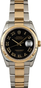 Rolex Datejust 116233 Black Sunbeam Dial