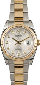 Pre Owned Rolex Datejust 116233 Diamond Jubilee Oyster