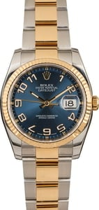 PreOwned Rolex Datejust 116233 Blue Concentric Dial