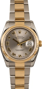 Pre-Owned Rolex Datejust 116233 Rhodium Dial