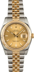 Pre Owned Rolex Datejust 116233 Two Tone Jubilee