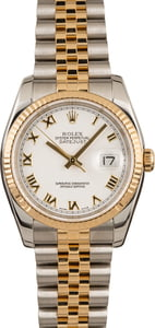 Pre-Owned Rolex Datejust 116233 Roman Markers