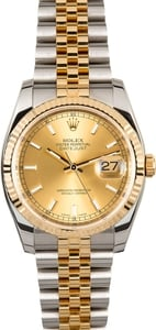 Rolex Datejust 116233 Champagne Index
