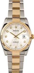 Rolex Datejust 116233 Diamond Jubilee Oyster