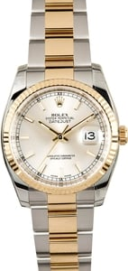 Rolex Datejust 116233 Silver Index