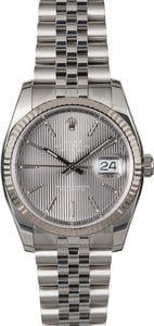 Rolex Datejust 116234 Slate Dial