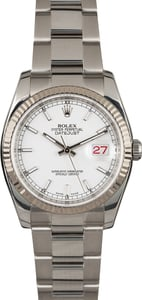 Rolex Datejust 116234 Steel Oyster Band