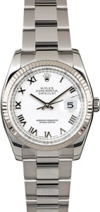 Men's Rolex Datejust 116234 Steel Oyster