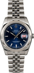 Rolex Datejust 116234 Jubilee Band