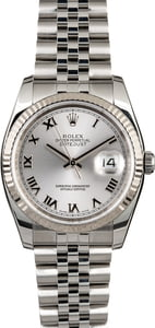 Rolex Datejust 116234 Rhodium Dial