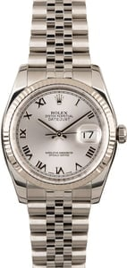 Used Rolex Datejust 116234 Steel Jubilee Band