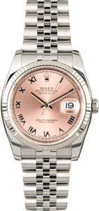 Rolex Datejust 116234 Salmon Dial
