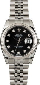 Rolex Datejust 116234 Diamonds