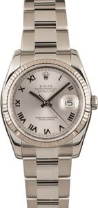 Pre Owned Rolex Datejust 116234 Roman Dial