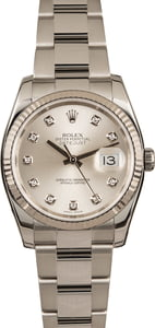 Pre-Owned Rolex Datejust 116234 Diamond Dial