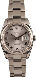 Rolex Datejust 116234 Steel Men's Watch