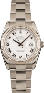 Rolex 116234 White Gold Bezel