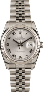 Men's Datejust Rolex 116234 Silver Dial
