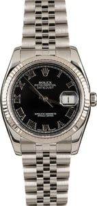 Pre-Owned Rolex DateJust 116234 Roman Dial Watch